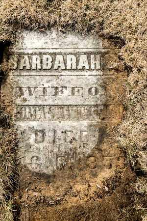 TAYLOR, BARBARAH - Richland County, Ohio | BARBARAH TAYLOR - Ohio Gravestone Photos