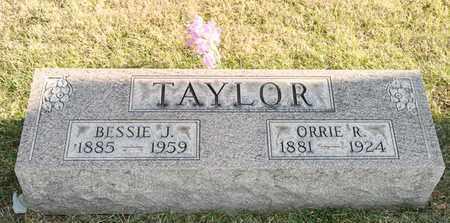 TAYLOR, BESSIE J - Richland County, Ohio | BESSIE J TAYLOR - Ohio Gravestone Photos