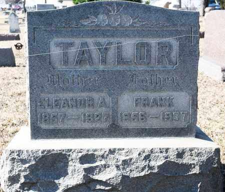 TAYLOR, ELEANOR A - Richland County, Ohio | ELEANOR A TAYLOR - Ohio Gravestone Photos