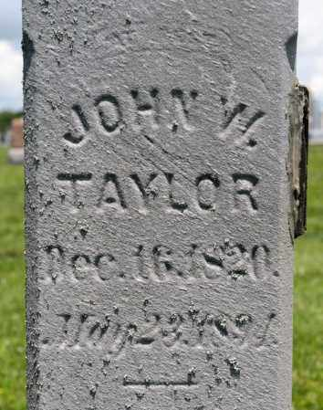 TAYLOR, JOHN W - Richland County, Ohio   JOHN W TAYLOR - Ohio Gravestone Photos
