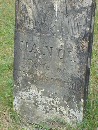 TAYLOR, NANCY - Richland County, Ohio | NANCY TAYLOR - Ohio Gravestone Photos