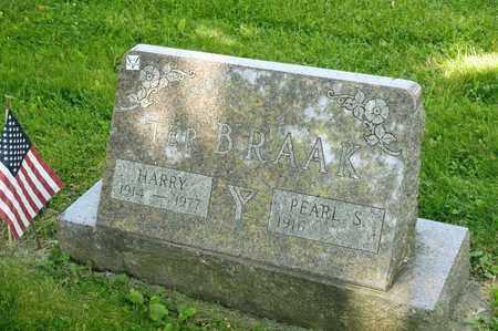 TER BRAAK, HARRY - Richland County, Ohio | HARRY TER BRAAK - Ohio Gravestone Photos