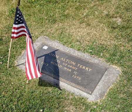 TERRY, JOHN ALTON - Richland County, Ohio | JOHN ALTON TERRY - Ohio Gravestone Photos