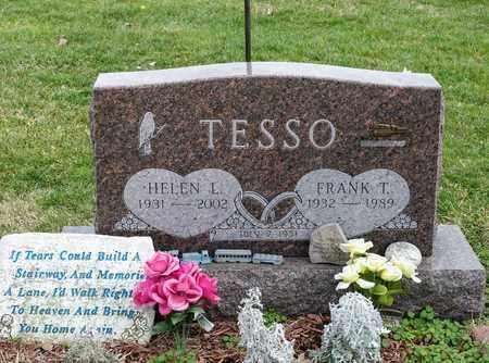 TESSO, FRANK T - Richland County, Ohio | FRANK T TESSO - Ohio Gravestone Photos