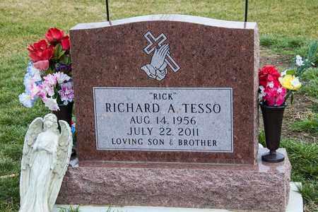 TESSO, RICHARD A - Richland County, Ohio   RICHARD A TESSO - Ohio Gravestone Photos