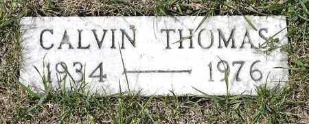 THOMAS, CALVIN - Richland County, Ohio | CALVIN THOMAS - Ohio Gravestone Photos