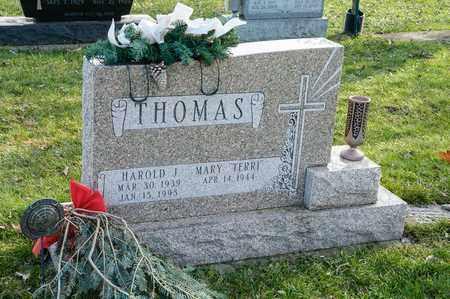 THOMAS, HAROLD J - Richland County, Ohio | HAROLD J THOMAS - Ohio Gravestone Photos