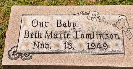 THOMLINSON, BETH MARIE - Richland County, Ohio | BETH MARIE THOMLINSON - Ohio Gravestone Photos