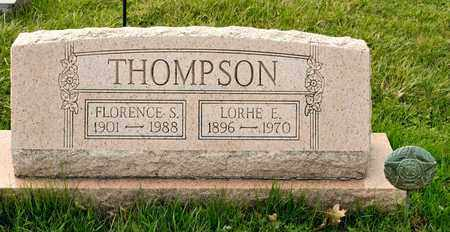 THOMPSON, LORHE E - Richland County, Ohio | LORHE E THOMPSON - Ohio Gravestone Photos