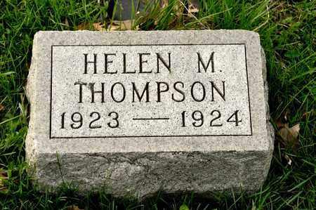THOMPSON, HELEN M - Richland County, Ohio   HELEN M THOMPSON - Ohio Gravestone Photos
