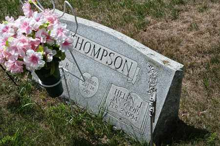 THOMPSON, HELEN J - Richland County, Ohio | HELEN J THOMPSON - Ohio Gravestone Photos