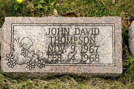 THOMPSON, JOHN DAVID - Richland County, Ohio   JOHN DAVID THOMPSON - Ohio Gravestone Photos
