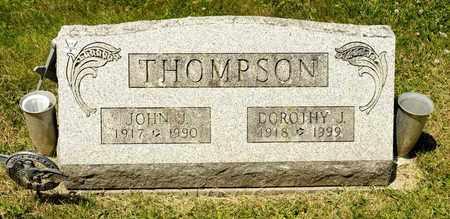 THOMPSON, DOROTHY J - Richland County, Ohio | DOROTHY J THOMPSON - Ohio Gravestone Photos