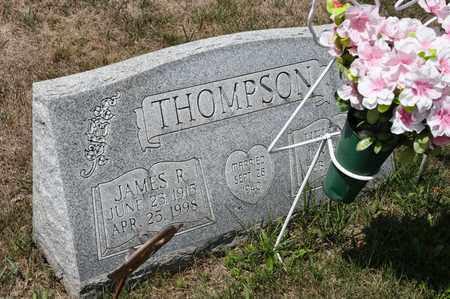 THOMPSON, JAMES R - Richland County, Ohio | JAMES R THOMPSON - Ohio Gravestone Photos