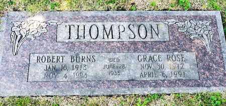 THOMPSON, ROBERT BURNS - Richland County, Ohio | ROBERT BURNS THOMPSON - Ohio Gravestone Photos