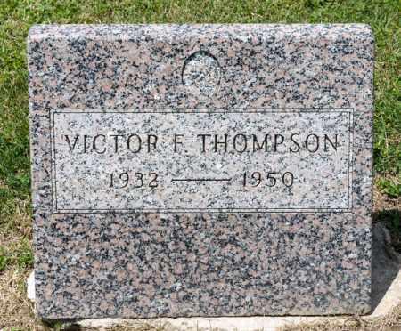 THOMPSON, VICTOR F - Richland County, Ohio | VICTOR F THOMPSON - Ohio Gravestone Photos