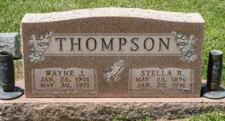 THOMPSON, WAYNE J - Richland County, Ohio | WAYNE J THOMPSON - Ohio Gravestone Photos