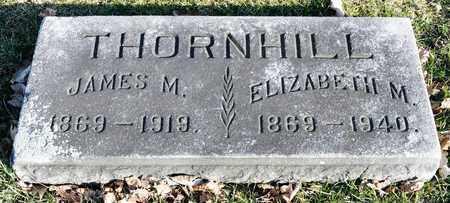 THORNHILL, ELIZABETH M - Richland County, Ohio   ELIZABETH M THORNHILL - Ohio Gravestone Photos