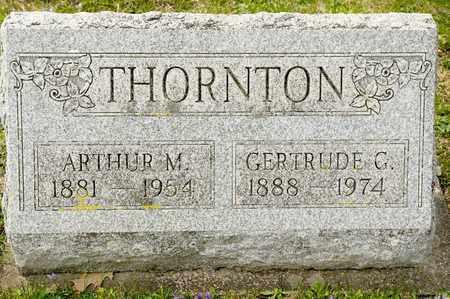 THORNTON, ARTHUR M - Richland County, Ohio | ARTHUR M THORNTON - Ohio Gravestone Photos