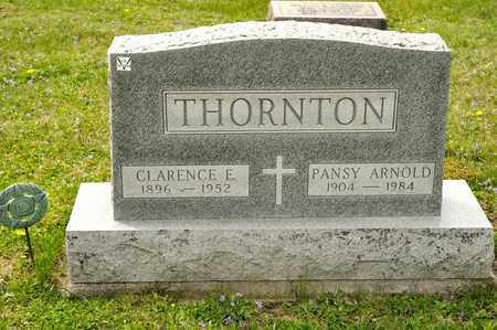 THORNTON, CLARENCE E - Richland County, Ohio | CLARENCE E THORNTON - Ohio Gravestone Photos