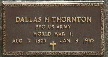 THORNTON, DALLAS H - Richland County, Ohio | DALLAS H THORNTON - Ohio Gravestone Photos