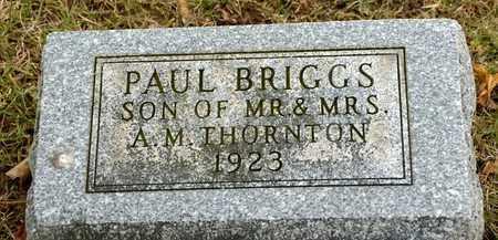 THORNTON, PAUL BRIGGS - Richland County, Ohio | PAUL BRIGGS THORNTON - Ohio Gravestone Photos