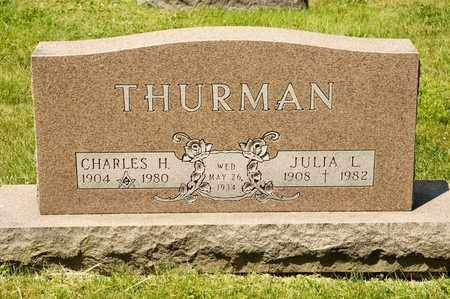 THURMAN, CHARLES H - Richland County, Ohio | CHARLES H THURMAN - Ohio Gravestone Photos