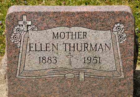 THURMAN, ELLEN - Richland County, Ohio   ELLEN THURMAN - Ohio Gravestone Photos
