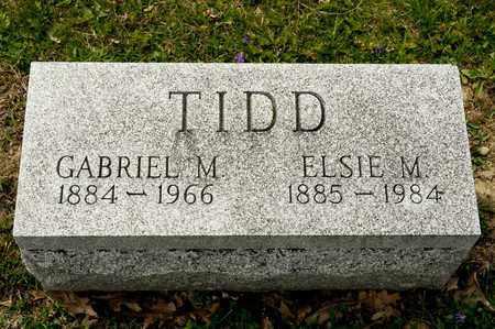 TIDD, GABRIEL M - Richland County, Ohio | GABRIEL M TIDD - Ohio Gravestone Photos