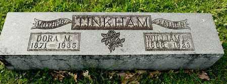 TINKHAM, DORA M - Richland County, Ohio   DORA M TINKHAM - Ohio Gravestone Photos