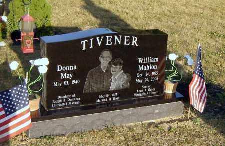 TIVENER, WILLIAM MAHLON - Richland County, Ohio | WILLIAM MAHLON TIVENER - Ohio Gravestone Photos