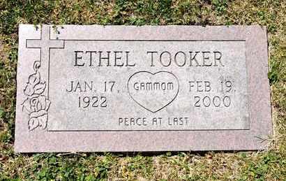 TOOKER, ETHEL - Richland County, Ohio   ETHEL TOOKER - Ohio Gravestone Photos