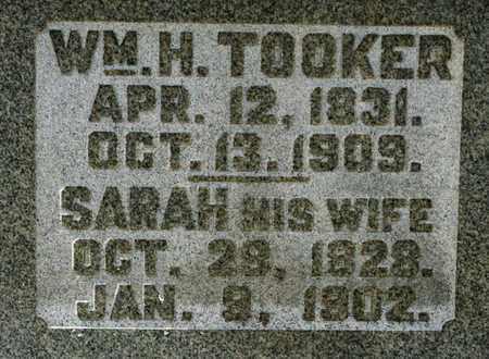 TOOKER, SARAH - Richland County, Ohio | SARAH TOOKER - Ohio Gravestone Photos
