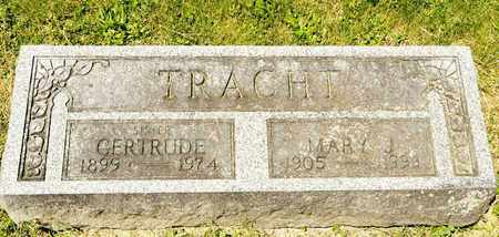 TRACHT, GERTRUDE - Richland County, Ohio   GERTRUDE TRACHT - Ohio Gravestone Photos