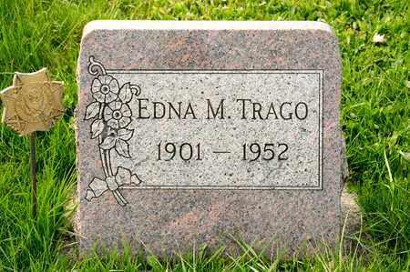 TRAGO, EDNA M - Richland County, Ohio | EDNA M TRAGO - Ohio Gravestone Photos