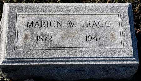 TRAGO, MARION W - Richland County, Ohio | MARION W TRAGO - Ohio Gravestone Photos
