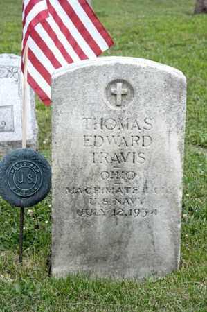 TRAVIS, THOMAS EDWARD - Richland County, Ohio | THOMAS EDWARD TRAVIS - Ohio Gravestone Photos