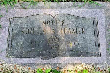TRAXLER, ROZELLA A - Richland County, Ohio   ROZELLA A TRAXLER - Ohio Gravestone Photos