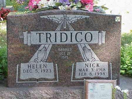 TRIDICO, HELEN - Richland County, Ohio | HELEN TRIDICO - Ohio Gravestone Photos