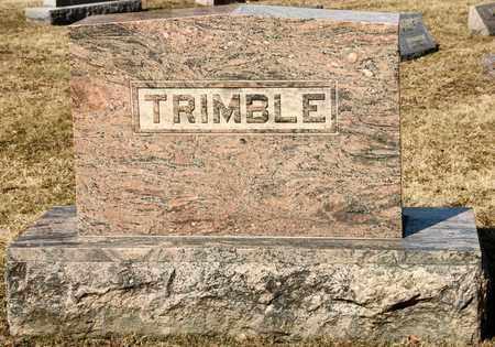 CUMBERWORTH TRIMBLE, IDA MAY - Richland County, Ohio | IDA MAY CUMBERWORTH TRIMBLE - Ohio Gravestone Photos