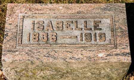 TRIMBLE, ISABELLE - Richland County, Ohio | ISABELLE TRIMBLE - Ohio Gravestone Photos