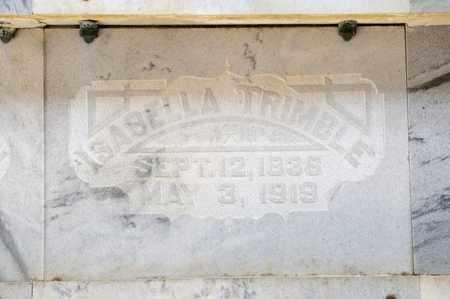 TRIMBLE, ISABELLA - Richland County, Ohio | ISABELLA TRIMBLE - Ohio Gravestone Photos