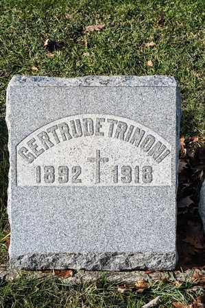 TRINONI, GERTRUDE - Richland County, Ohio | GERTRUDE TRINONI - Ohio Gravestone Photos