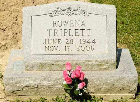 TRIPLETT, ROWENA - Richland County, Ohio   ROWENA TRIPLETT - Ohio Gravestone Photos