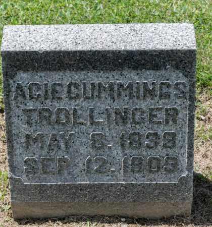 CUMMINGS TROLLINGER, ACIE - Richland County, Ohio | ACIE CUMMINGS TROLLINGER - Ohio Gravestone Photos