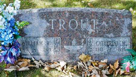 TROUT, CATHERINE M - Richland County, Ohio | CATHERINE M TROUT - Ohio Gravestone Photos