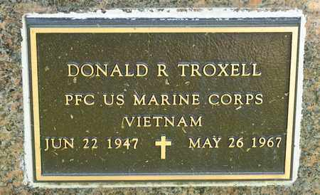 TROXELL, DONALD R - Richland County, Ohio | DONALD R TROXELL - Ohio Gravestone Photos