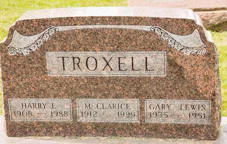 TROXELL, M CLARICE - Richland County, Ohio   M CLARICE TROXELL - Ohio Gravestone Photos