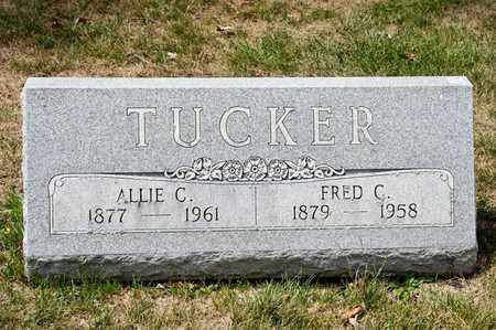 TUCKER, FRED C - Richland County, Ohio | FRED C TUCKER - Ohio Gravestone Photos