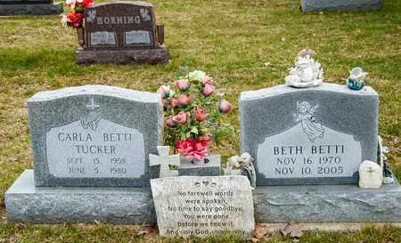 BETTI, BETH - Richland County, Ohio | BETH BETTI - Ohio Gravestone Photos